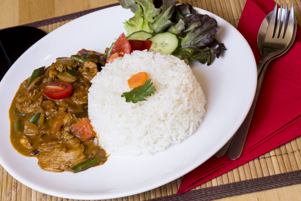 Vörösboros vörös curry